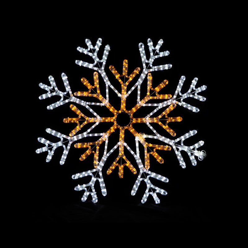 Christmas led snowflake lighted decoration,christmas street light
