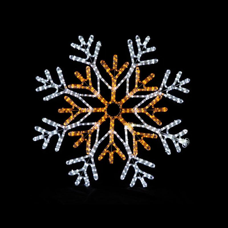 Christmas led snowflake lighted decoration,christmas street light