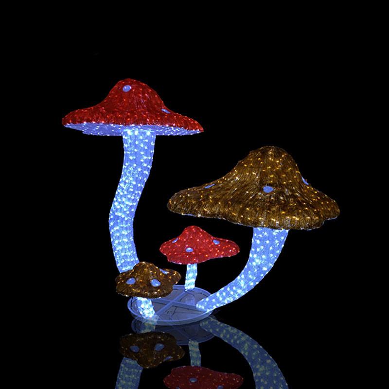 3D Crystal Sculpture Motif