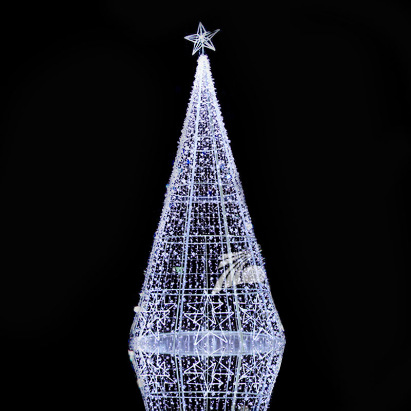 3D Christmas Motif Light