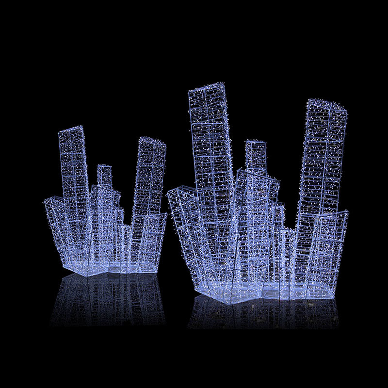 3D Icicle Large Project Motif Light