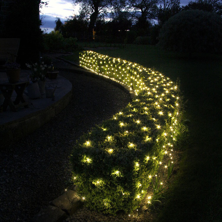 Party Outdoor waterproof Ornaments LED Net Decoration Fairy Christmas Lights