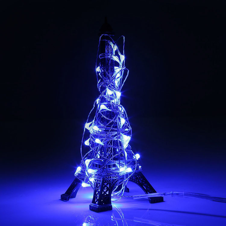 Party Ornaments LED Copper Wire String Dcoration Christmas Lights